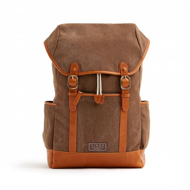 Clifton Trail Backpack brun | Sommarpresenter för företag