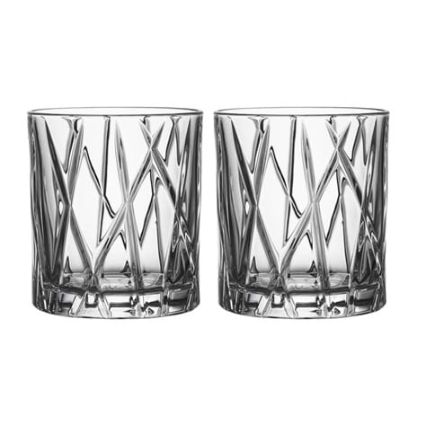 Orrefors City Old Fashioned 2-pack