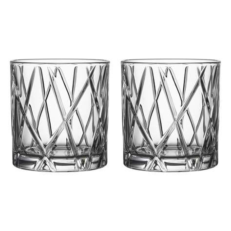 Orrefors City Double Old Fashioned 2-pack