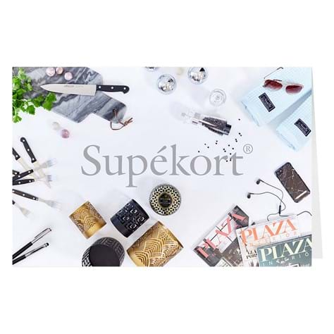 Supékort - Unlimited selection